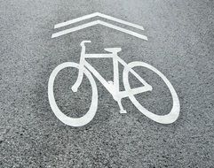 Bike Sign drawing