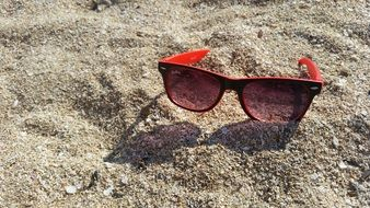 Glasses Beach Sand Sunglasses