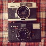 two vintage Analog photo Cameras