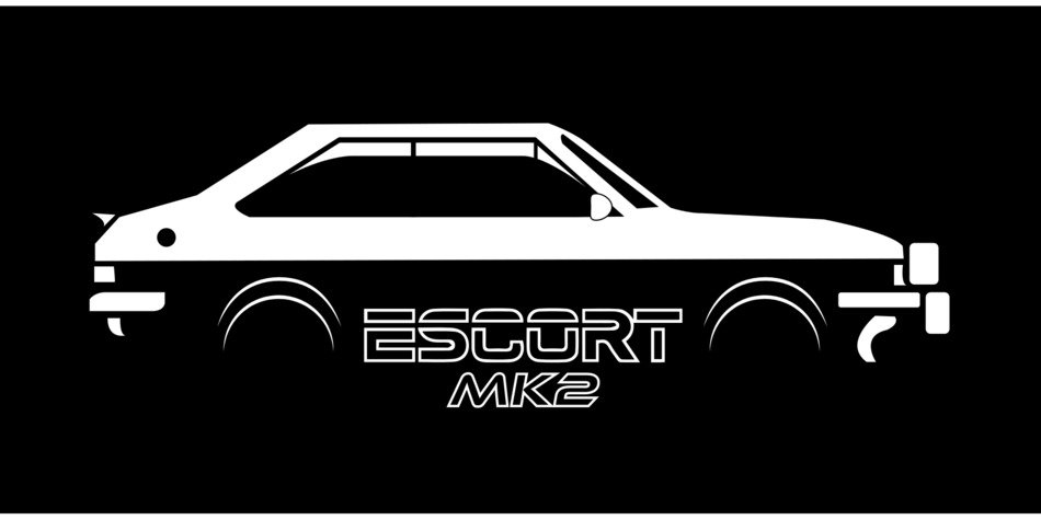 Ford car escort mk2