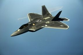 Military Jet F-22 drawing