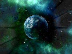planet in the center of the universe