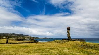 Landscape of Easter Island