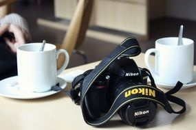 Coffee and Camera Nikon