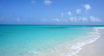 Landscape of beach in Turks And Caicos