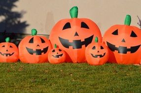 Picture of the halloween Pumpkins
