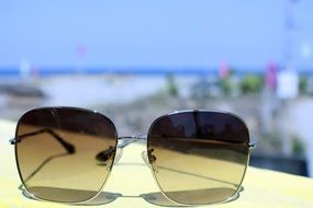 Glasses Summer Beach