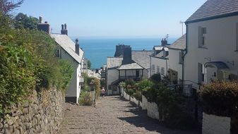 Devon Clovelly English Coastal