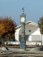 clock in the Usedom Island