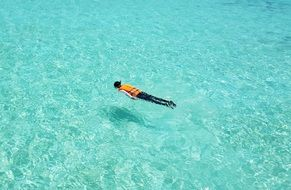 Maldives Swimming