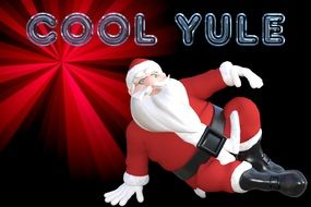 Christmas cool yule drawing
