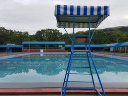 water Pool Safety area