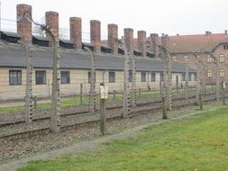 fence of Auschwitz