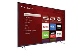TCL 55US5800 55-Inch 4K Ultra HD Roku Smart LED TV (2016 Model) N7
