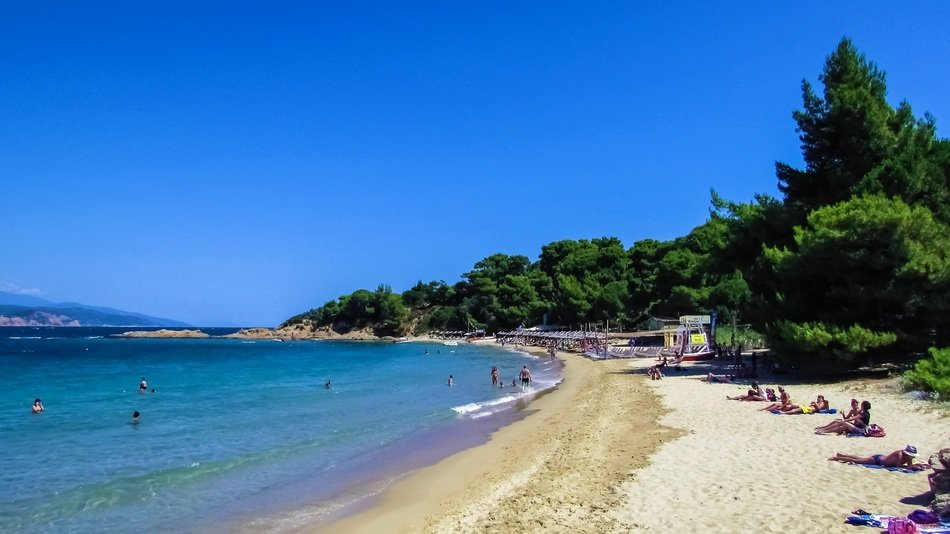 Beach in Skiathos