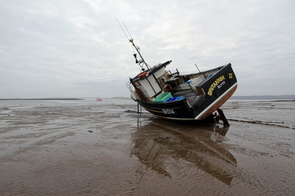 Picture of Fishing Boat on a shore