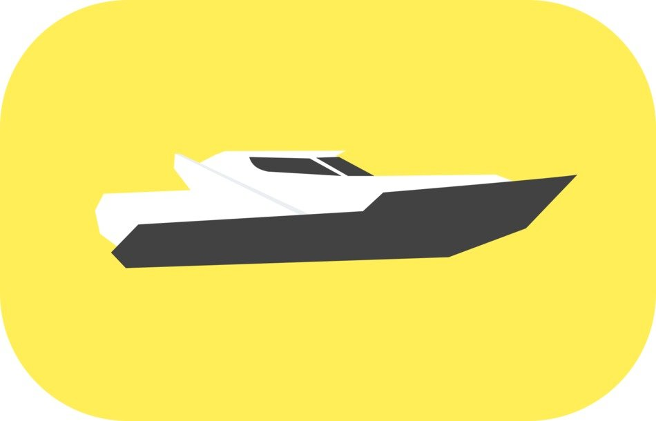 Speedboat drawing