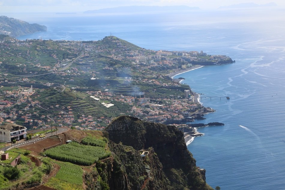 beautiful view of Madeira
