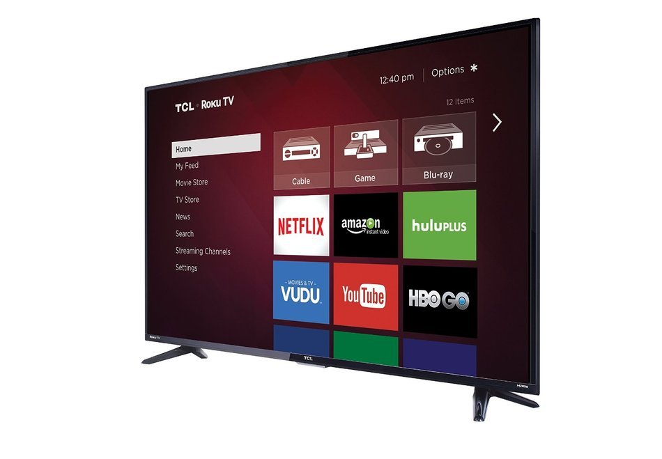 TCL 32S3800 32-Inch 720p Roku Smart LED TV (2015 Model) N12