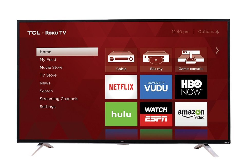 TCL 55US5800 55-Inch 4K Ultra HD Roku Smart LED TV (2016 Model) N9