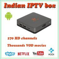 VSHARE Indian IPTV Box with more then 270 Indian TV Channels