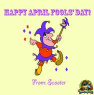 'Happy April Fools' clipart