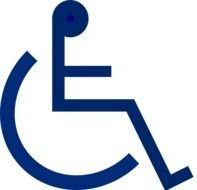 Wheelchair Symbol Clip Art