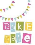 bake sale sign up sheet template free image