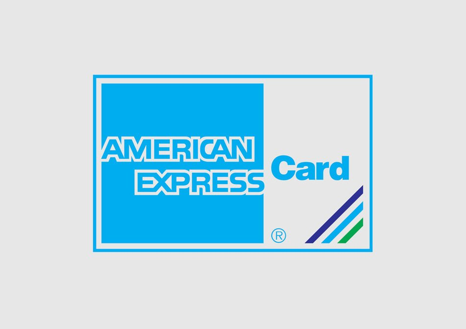 American Express Card Logo drawing