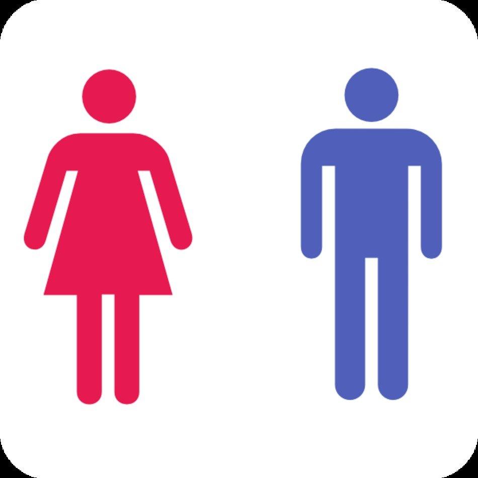 Men And Women Bathroom Signs Free Image, Men And Women Bathroom Sign