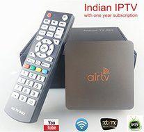 VSHARE Indian TV Box Indian IPTV Box Quad Core Android 4 4 2 Smart