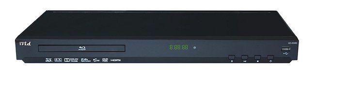 IVid BD-K980 Multi Region Free 4K Upscaling 3D Blu Ray DVD