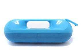 Leaf Tech Pill XL Portable Bluetooth Speaker with 'f' Logo (Blue) N5