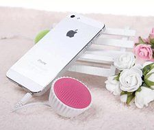 Lovely Cake Shape Mini Portable Speaker Cover For iPhone Smartphone Color Green N2