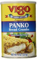 Vigo Bread Crumbs Panko Seasoned Italian Style 8 Oz Pack Of 6