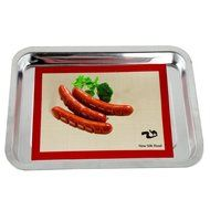 Food-Grade Silicone Baking Mat, Grade Baking Sheet Liner,Grill Mat, BBQ Grilling Accessories, Non-Stick & Reusable... N3
