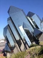 modern architecture in futuroscope park