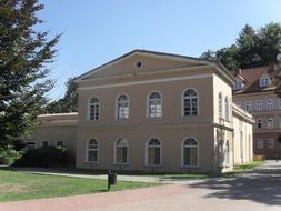 old mansion in teplice