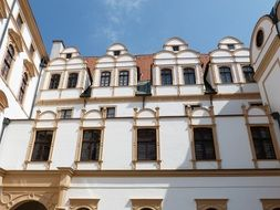 celle lower saxony old town windows cornice pilasters pediment historical building