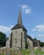 All Saints church in the Banstead,England