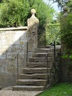 stone staircase in an old country house