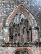 Ruins of an old church in Scotland
