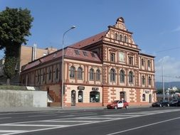 historical building in teplice