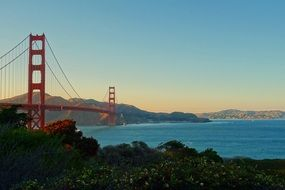 majestic golden bridge in San Francisco