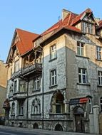 bydgoszcz corner building historic architecture