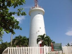 vintage toco light house