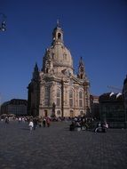 architecture of dresden frauenkirche