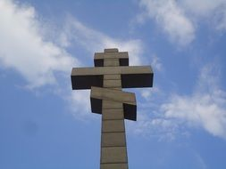stone cross in the city of Vratsa