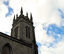 ireland church tower