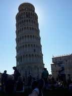 tower in a Pisa